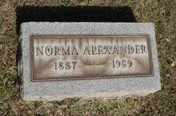 Norma D <i>Hoffman</i> Alexander