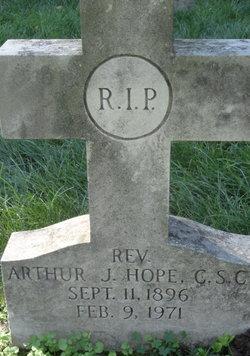 Rev Arthur J Hope