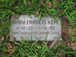 Mary Francis Kohl