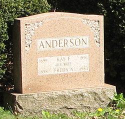 Freda N Anderson