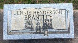 Jennie <i>Henderson</i> Brantley