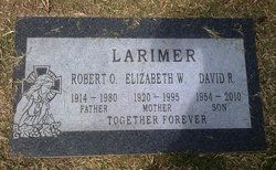 Elizabeth W <i>Wilson</i> Larimer