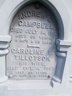 Caroline E <i>Tillotson</i> Campbell