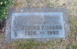 Agatha T. Brown
