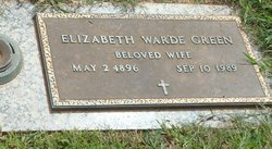 Elizabeth Jean <i>Warde</i> Green