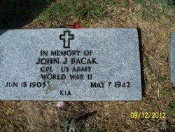 John J Bacak