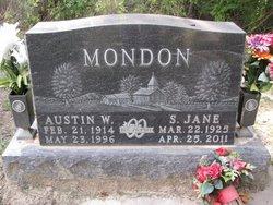 Austin Wilbert Mondon, Sr