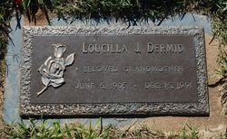 Minnie Loucilla <i>Jennings</i> Dermid