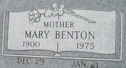 Mary Valera <i>Hunt</i> Benton