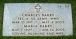 Maria <i>Gonzales</i> Barry