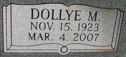 Dollye Mae <i>Williams</i> Speer
