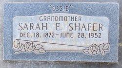 Sariah (Sarah) Eveline Essie <i>Johnson</i> Shafer
