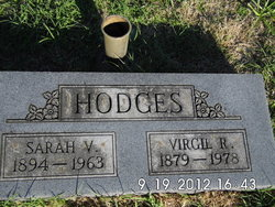 Sarah Virginia <i>Long</i> Hodges