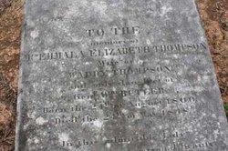 Emmala Elizabeth Emily <i>Butler</i> Thompson