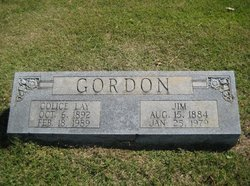 Collice <i>Lay</i> Gordon