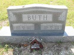 Matilda Hilda <i>Mueller</i> Buth