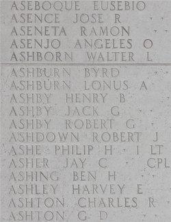 Sgt Henry B Ashby
