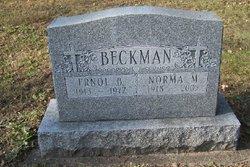 Norma M. <i>Roth</i> Beckman