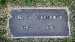 Ada Margaretha <i>Wohler</i> Steenbock