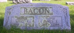Mary E. <i>Phillips</i> Bacon