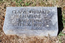 Clara Whitaker Chapline