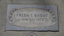 Freda Iola <i>Pratt</i> Boday