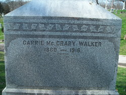 Carrie <i>McCrary</i> Walker