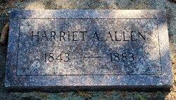 Harriet A <i>Andrus</i> Allen