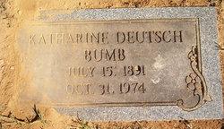 Katherine <i>Deutsch</i> Bumb
