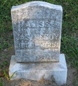 Malissa E. <i>Jackson</i> McCoy