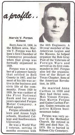 Marvin Vanburen Fergus, Jr