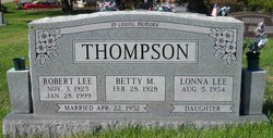 Betty M. Thompson