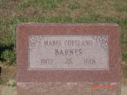 Mabel <i>Copeland</i> Barnes
