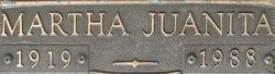Martha Juanita <i>Butler</i> Fletcher
