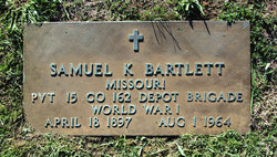 Pvt Samuel K. Bartlett