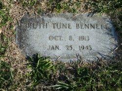 Ruth <i>Tune</i> Bennett