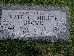 Kate C <i>Miller</i> Brown