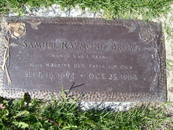 Samuel Raymond Brown