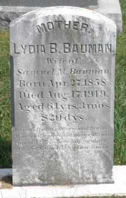 Lydia Bixley <i>Berkey</i> Bauman