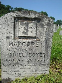Margaret Rebecca <i>Blickenstaff</i> Boyer