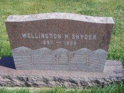 Wellington H Weck Snyder