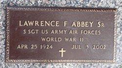 Lawrence Frederick Larry Abbey, Sr