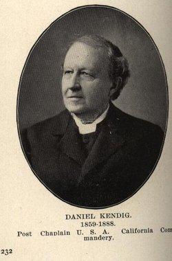 Rev Daniel Kendig