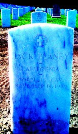 Corp Jack B. Blaney