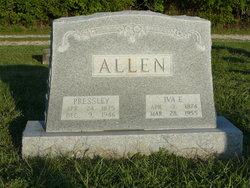 Iva Elizabeth <i>Lewis</i> Allen