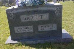 Harrison Herbert Harry Barritt