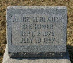 Alice M <i>Hower</i> Blauch