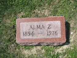 Alma Z. <i>Brown</i> Borman