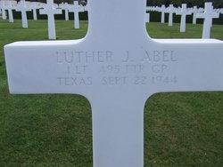 1Lt Luther J Abel