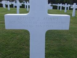 Sgt Arthur J Adams